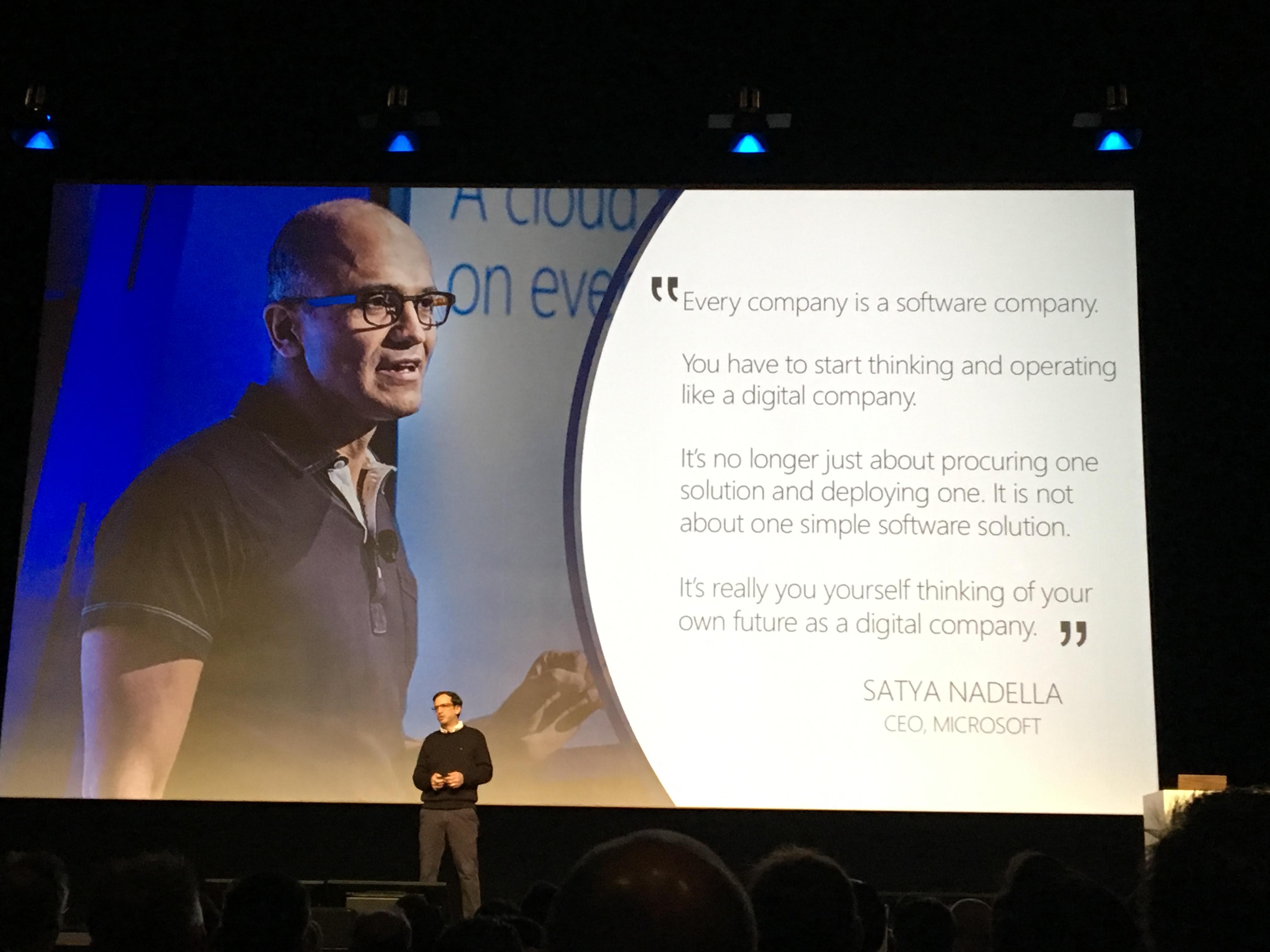 全ての企業はソフトウェア企業になる