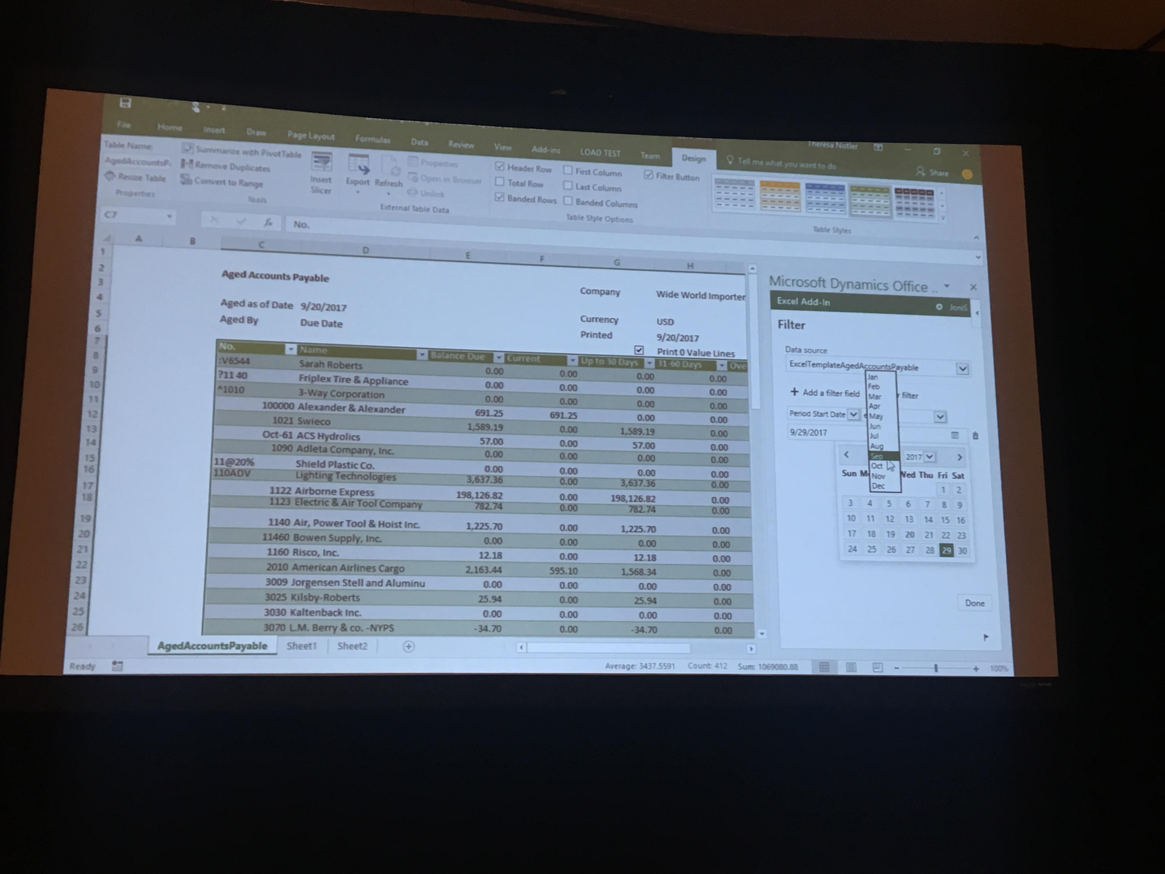 Excelとの双方向データ連携